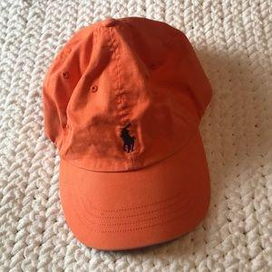 Orange Polo by Ralph Lauren Hat